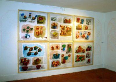 Vue de l'exposition Michel Imbert à la Maison Salvan.