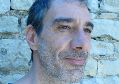 Michel Imbert, portrait par l'artiste pour les 10 ans de la Maison Salvan.