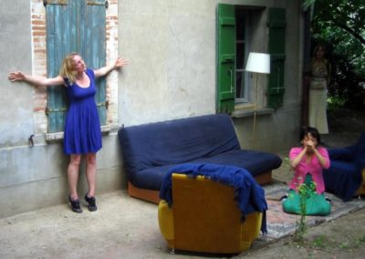K . Danse, « Doubles » à la Maison Salvan.
