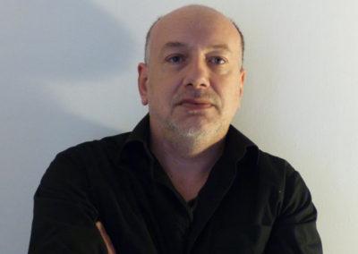 Alain Josseau, portrait par l'artiste pour les 10 ans de la Maison Salvan.