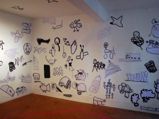 Odile Fuchs, 100enfants, «Little big place(sic)»