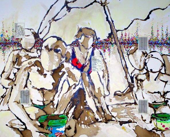 Soraya Azouz, peinture