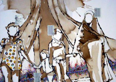 Soraya Azouz, série Edvige «Monuments des martyrs».