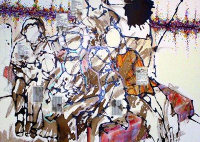 Soraya Azouz, série Edvige «Chez G et A».