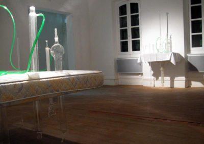 Carl Hurtin, « Champ ouvert / tragédie des communs », vue sur La chambre.