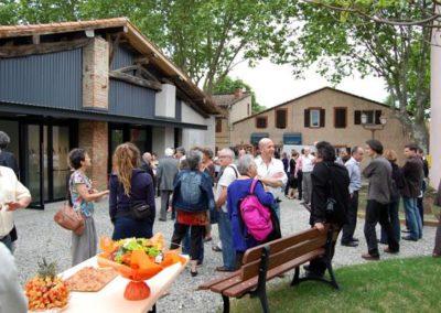 Carl Hurtin, « Champ ouvert / tragédie des communs », vernissage-visite de l'exposition en présence de Carl Hurtin.