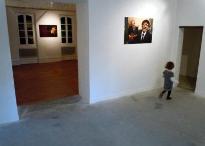 « Tsiganes autour de l'internement ». Vue de l'exposition, collection personnelle d' Emmanuel Stitou. Photographies de Nicolo' Revelli-Beaumont.