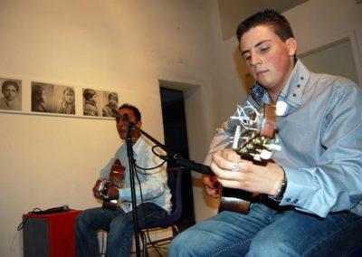 « Tsiganes autour de l'internement », concert swing manouche par Delvis Bellocq.