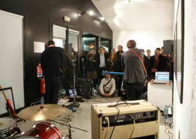 Concert de Michel Cloup et Pascal Bouaziz à la Maison Salvan.