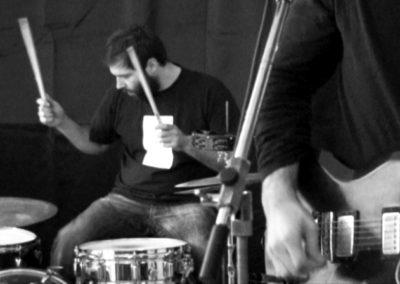 Concert de Michel Cloup et Pascal Bouaziz à la Maison Salvan : Patrice Cartier.