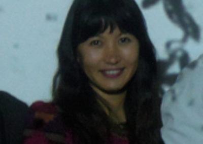 Charwei Tsai, portrait par l'artiste pour les 10 ans de la Maison Salvan.