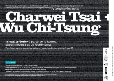 Carton d'invitation « À l'ombre des sens ». Conception graphique : Yann Febvre.