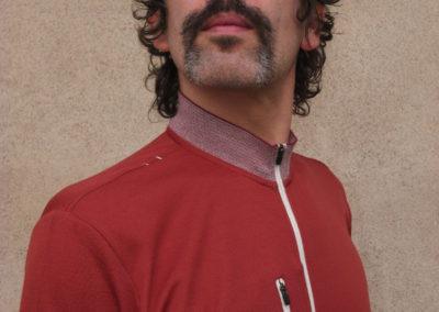 Arno Fabre, portrait par l'artiste pour les 10 ans de la Maison Salvan.