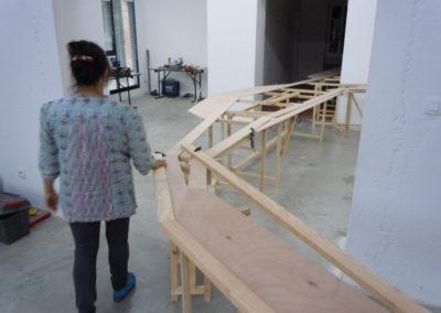 Visite LMAC, exposition «Topos» de Mathias Poisson.