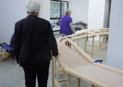 Rencontre, exposition «Topos» de Mathias Poisson.