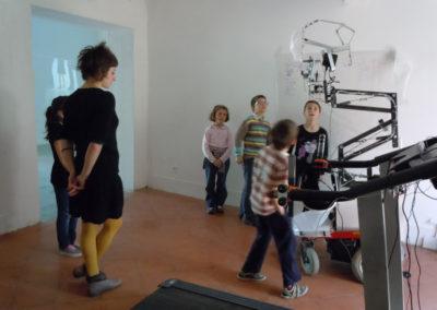 Visite scolaire de l'exposition « Same player shoot again ».