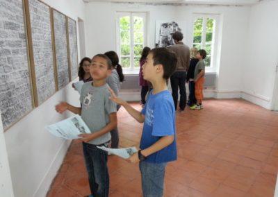 Visite de l'exposition «Le Jour après le lendemain».