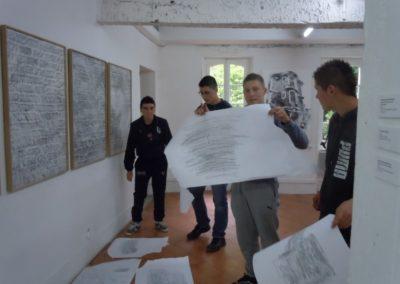 Atelier autour de l'exposition «Le Jour après le lendemain».