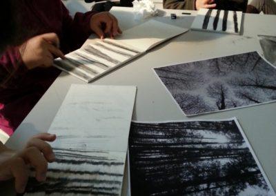 Atelier autour de l'exposition «En mouvement».