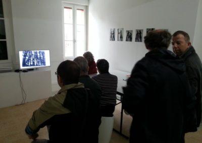 Visite de l'exposition «En mouvement».