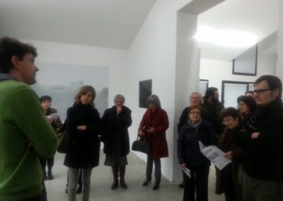 Vernissage de l'exposition « Chronotope ».