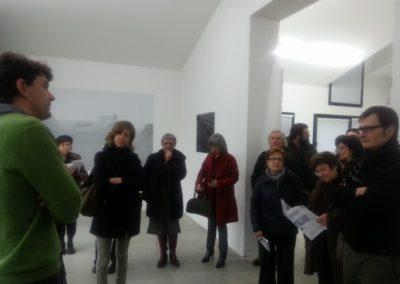 Vernissage de l'exposition «Chronotope».