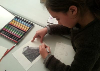 Atelier autour de l'exposition «Chronotope».