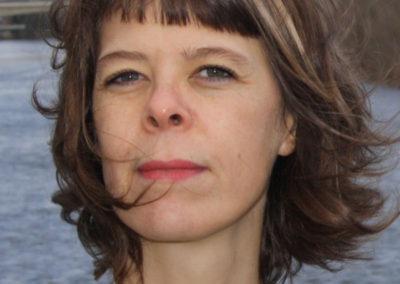 Marielle Hochet, portrait par l'artiste pour les 10 ans de la Maison Salvan.