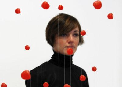 Caroline Pandelé, portrait par l'artiste pour les 10 ans de la Maison Salvan.