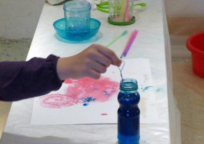 Atelier du mercredi autour de l'exposition «À propos du fond de l'air».