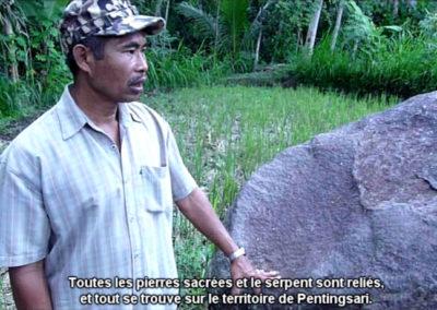 Collectif Ding. Extrait de la vidéo «Stones are speaking».