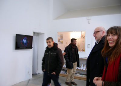 Collectif Ding. Vernissage de l'exposition.