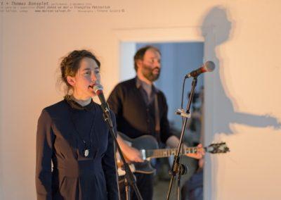 Arlt + Thomas Bonvalet, performance du 6 décembre.