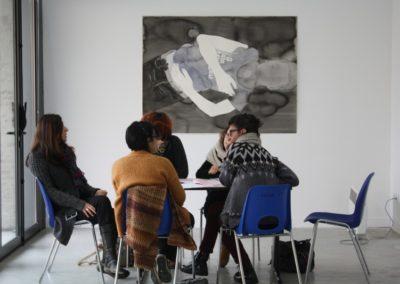 Formation LMAC périscolaire dans le cadre de l'exposition « Étant donné un mur ».