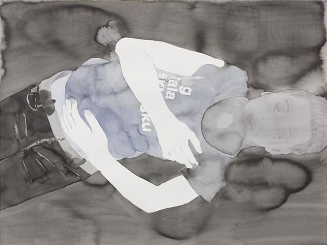 Françoise Pétrovitch, «Étant donné un mur»