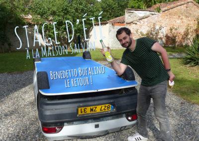 Stage d'été 2017: BenedettoBufalino, leretour!
