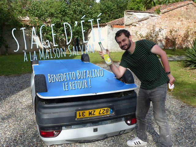 Stage d'été : Benedetto Bufalino, le retour !