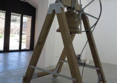 Vue de l'exposition Arno Fabre.