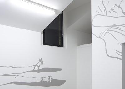 Performance (danse) par Lise Romagny.