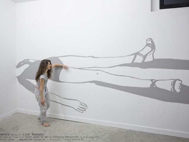 Performance (danse) par Lise Romagny