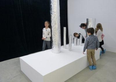 Des médiations de l'exposition « Fata Morgana »