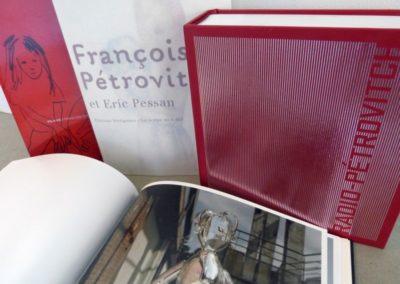 Conférence autour du livre d'artiste, entre Jérôme Dupeyrat et Françoise Pétrovith.