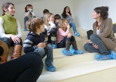 Atelier vacance 18/02/15 autour de l'exposition « Fata Morgana ».