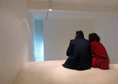 Visite de l'exposition « Fata Morgana ».