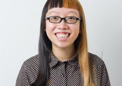 Debbie Ding, portrait par l'artiste pour les 10 ans de la Maison Salvan.