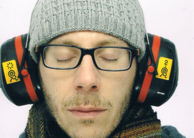 Stéphane Marin, portrait par l'artiste pour les 10 ans de la Maison Salvan.