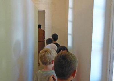Visite-atelier des CP-Ce1 de l'école de Labège.