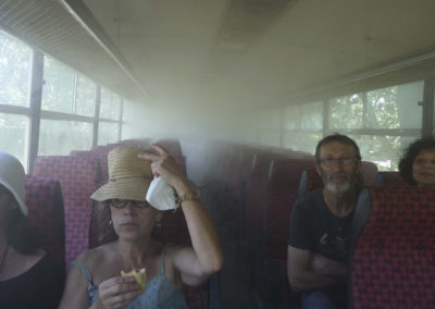 Collectif DING, « Clouds Bus ».