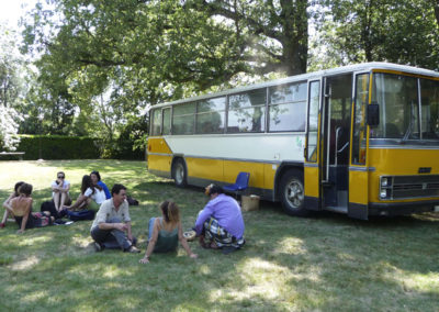 Collectif DING, «Clouds Bus».