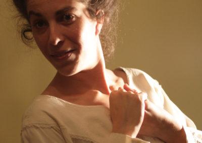Ingrid Labbebda, portrait par l'artiste pour les 10 ans de la Maison Salvan.
